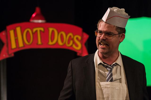 Micah Sherman as Stu, Photo © Kent Meister