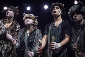 Muriel, Clover, Boxer and Benjamin