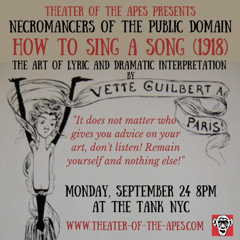 THIS MONDAY! Tickets now on sale! NECROMANCERS OF THE PUBLIC