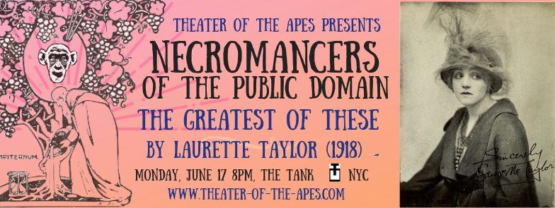 Necromancers of the Public Domain - Past Editions - Theater of the Apes